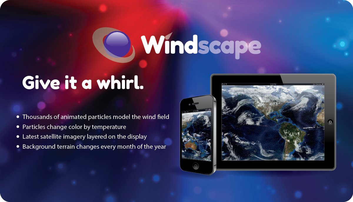 Windscape: Give it a whirl.